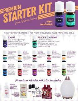 2019 NEW Young Living Premium Starter Kit with 12 oils and Desert Mist Diffuser