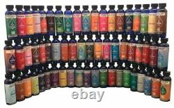 Aceites Aromatherapy Collection Oil Essential Aromatic SET OF 100 Bottles 2.2 oz