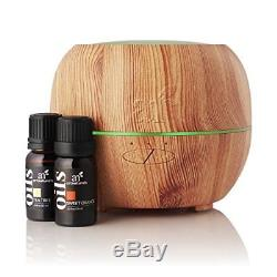 Aromatherapy Essential Oil and Diffuser Gift Set (For Young Living)