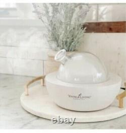 BNIB Young Living LIMITED EDITION White Aria Diffuser with Remote