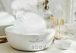 BRAND NEW in box NIB Young Living LIMITED EDITION White Aria Diffuser with Remote
