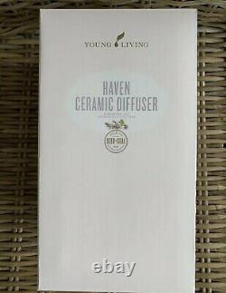 Brand New! Young Living Essential Oils Haven Ceramic Diffuser Christmas Catalog