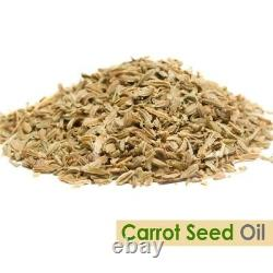 Carrot Seed Oil 100% Natural Pure Undiluted Uncut Essential Oil 10ml To 500ml