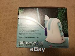 DIFFUSER WORLD Aroma-Ace Essential Oil Atomizing Diffuser Green 110V