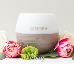 DoTERRA 3x5ml Therapeutic Essential Oil Gift Pack + Petal Diffuser Aromatherapy