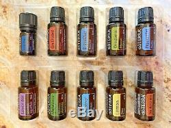 DoTERRA HOME ESSENTIALS KIT WithPETAL DIFFUSER AND 15ml OILS