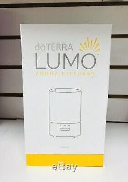 DoTERRA Home Essential Kit Sealed -LUMO diffuser + 12 OILS + 25 Slots Wooden BOX