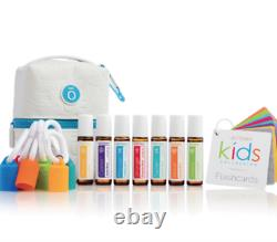 DoTERRA Kid's Oil Collection 7Roll-On Caps CarryCase Essential Oil Aromatherapy