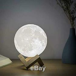 Full Moon Essential Oil Diffuser and Lamp (2-in-1)