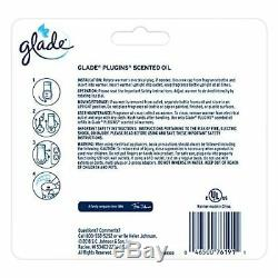 Glade PlugIns Scented Oil Warmer, Holds Essential Infused Wall Plug in Refill 2