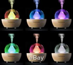 Glass Essential Oil Diffuser Nebulizer Aromatherapy Benefits Humidifier Cascade