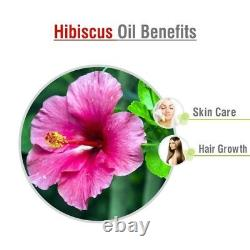 Hibiscus Oil 100% Natural Pure Undiluted Uncut Essential Oil 10ml To 500ml