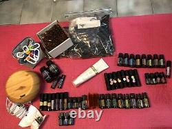 Huge Lot Of New Sealed And Used But Full Doterra Oils And Accessories