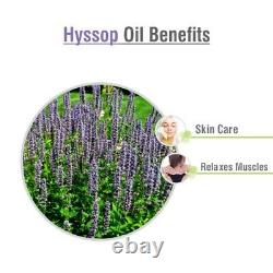 Hyssop Oil 100% Natural Pure Undiluted Uncut Essential Oils 10ml To 500ml