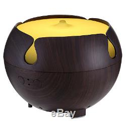 Kenwell 600ml Essential Oil Diffuser Ultrasonic Humidifier with Light