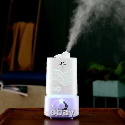 LED Cool Mist Humidifier Room Essential Oil Diffuser Combo 1.5L / 0.4 US Gallon