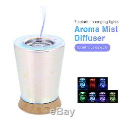 LED Light Aromatherapy Essential Oil Aroma Diffuser Ultrasonic Humidifier Mist