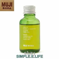 Muji Large Aroma Diffuser & Relax Time Essential Oil Blend Set With Tracking