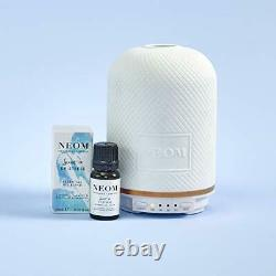 NEOM Wellbeing Pod Essential Oil Diffuser & Real Luxury Oil Blend (10ml)