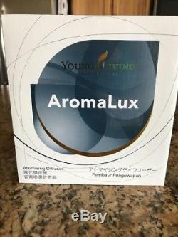 NEW IN BOX YOUNG LIVING AROMALUX ATOMIZING DIFFUSER Essential Oils