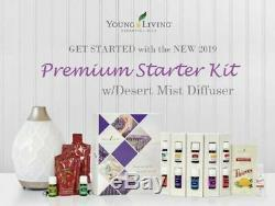 NEW Young Living 2019 Premium Starter Kit With Desert Mist Diffuser