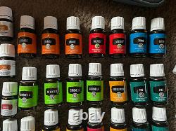 NEW Young Living Essential Oils Lot 72 Plus Rollers Orb Diffuser Cases