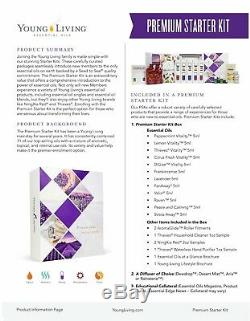 NWT 2019 YOUNG LIVING Premium Starter Kit With Desert Mist Diffuser