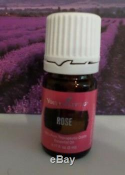 New BATCH! Young Living ROSE 5ml-100%PURE THERAPEUTIC GRADE ESSENTIAL OIL