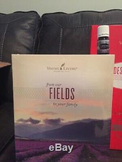 New Young Living 5ml St Maries AND 25th Silver Diffuser Rare Limited OOS