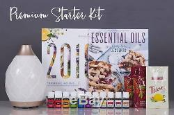 New Young Living essential oils starter kit with diffuser lots of great extras