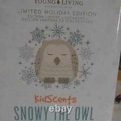 New in Box Young Living Essential Oils Snowy the Owl Diffuser