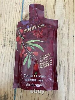NingXia Red 2oz Singles 60 Pack Young Living Essential Oil EXPIRE 8/21 SEE AD