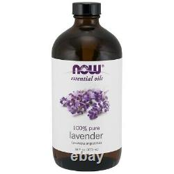 Now Foods LAVENDER OIL 16 OZ Made in USA FREE SHIPPING