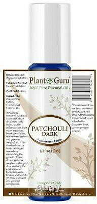 Patchouli Essential Oil Roll On Pure Natural Therapeutic Grade Perfume Fragrance