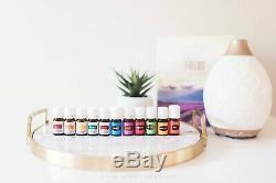 Premium Starter kit 12 essential oils and diffuser New Young Living