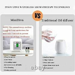 Professional Portable Battery Aromatherapy Essential Oils Nebulizing Diffuser