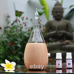 Raindrop 2.0 Nebulizing Diffuser For Essential Oil/Aromatherapy By Organic Aroma