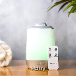 Spa Room Ultrasonic Essential Oil Diffuser and Fragrance Cool Mister LED Remote