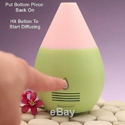 SpaRoom LED Essential Oil Aroma Diffuser Ultrasonic Humidifier Air Aromatherapy