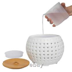 Ultrasonic Aroma Diffuser Set With Sound Lights Remote 3-Pack Essential Oils