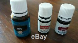 Used young living diffuser and used (opened) essential oils