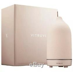 Vitruvi Stone Diffuser, Hand-Crafted Essential oil Diffuser Blush PINK New