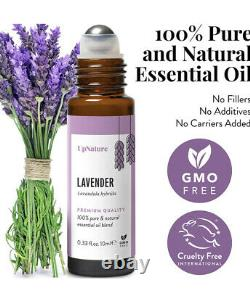 Wholesale Lot Of 150 Packaged UpNature Lavender Essential Oil Roll-On Organic