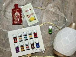 YOUNG LIVING ESSENTIAL OILS PREMIUM STARTER KIT with DESERT MIST DIFFUSER NIB