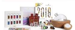 YOUNG LIVING ESSENTIAL OILS STARTER KIT With ARIA DIFFUSER, BRACELET/NECKLACE, BOOK