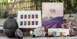 YOUNG LIVING ESSENTIAL OILS STARTER KIT With RAINSTONE DIFFUSER WithEXTRAS/ACCT CRED