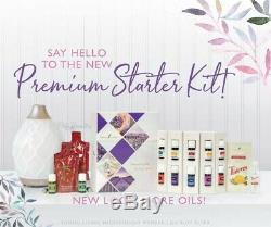 YOUNG LIVING PREMIUM STARTER KIT 12 essencial oils and diffuser