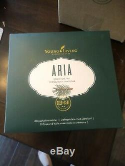 Young Living Aria Diffuser Essential Oils Aromatherapy Brand New
