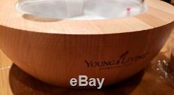 Young Living Aria Ultrasonic Diffuser for Essential Oils LED Lights remote