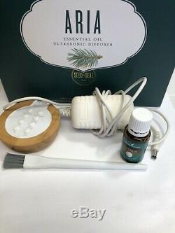 Young Living Aria Ultrasonic Essential Oil Diffuser Includes Box & Accessories